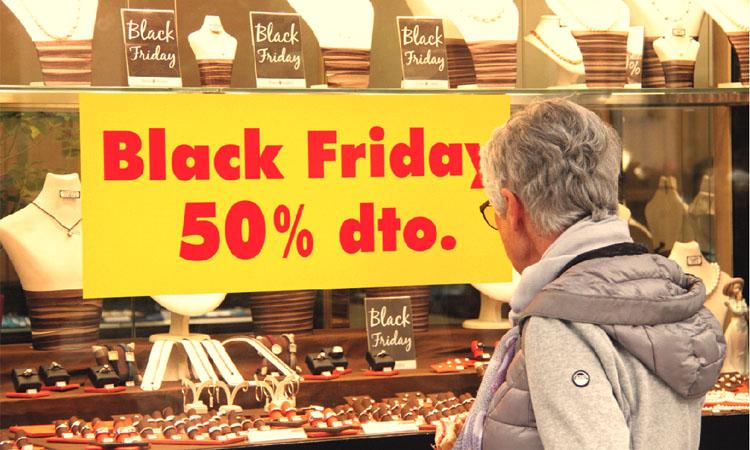 La força del Black Friday s'estén per tota l'àrea metropolitana