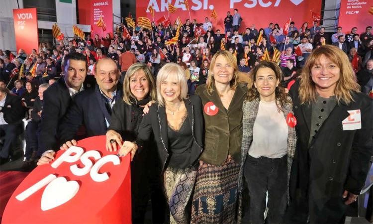 El PSC s'imposa a Gavà i ERC assalta el segon lloc