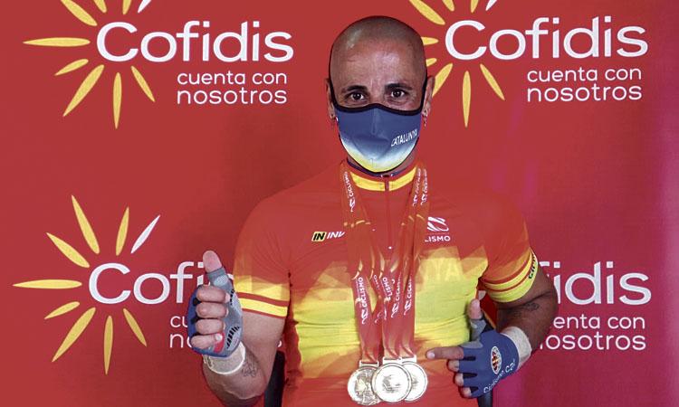 Garrote guanya tres ors en l'estatal de Cartagena