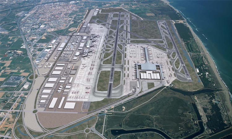 Viladecans rebutja l'ampliació de la tercera pista de l'Aeroport