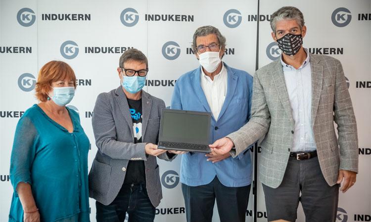 Indukern dona un centenar d'ordinadors a l'Ajuntament del Prat
