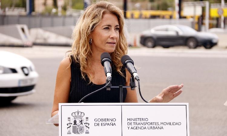 Raquel Sánchez ministra