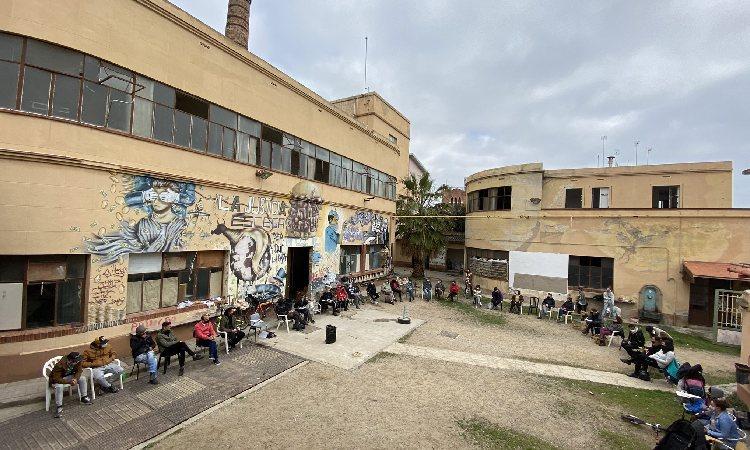 Can Sanpere celebra el vuitè aniversari de resistència a l'espera de l'expropiació