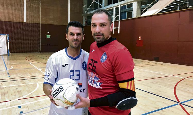 Final d'any discret dels equips de Tercera de futsal