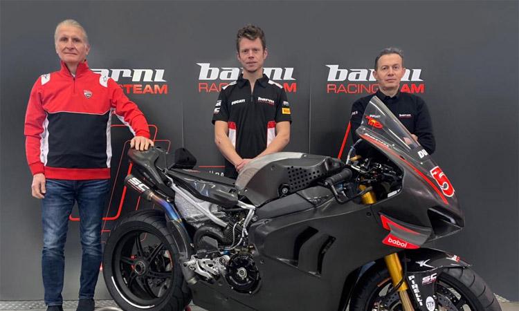 Tito Rabat competirà al Mundial de Superbikes amb l'equip Barni Racing Team
