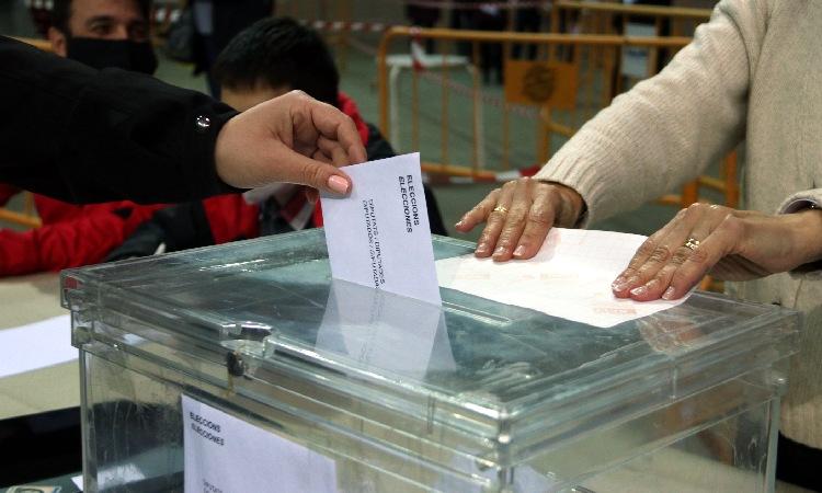 La participació cau 20 punts de mitjana al Baix Maresme