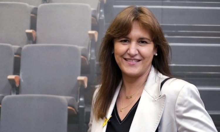 """Laura Borràs: """"Les retallades en sanitat no són la nostra herència"""""""