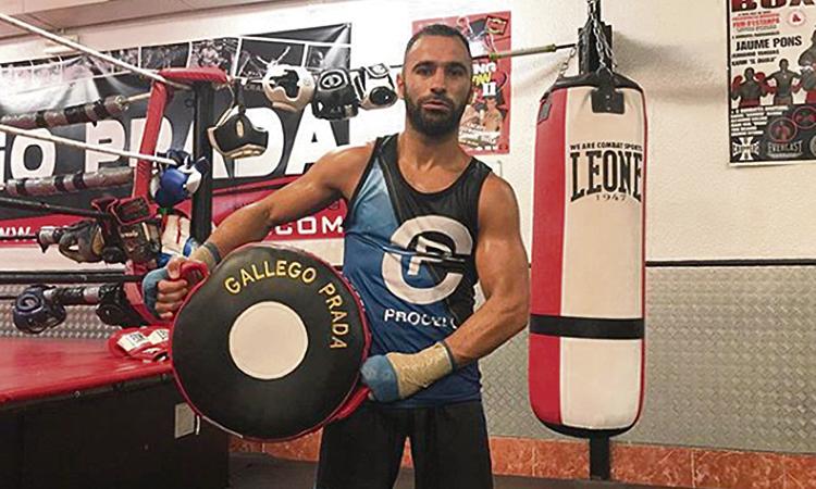 El boxejador Juli Giner vol reconquerir el cinturó europeu