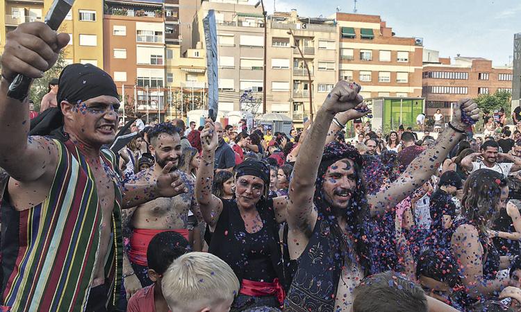 Premià de Mar s'omple de pirates i tradició per la Festa Major