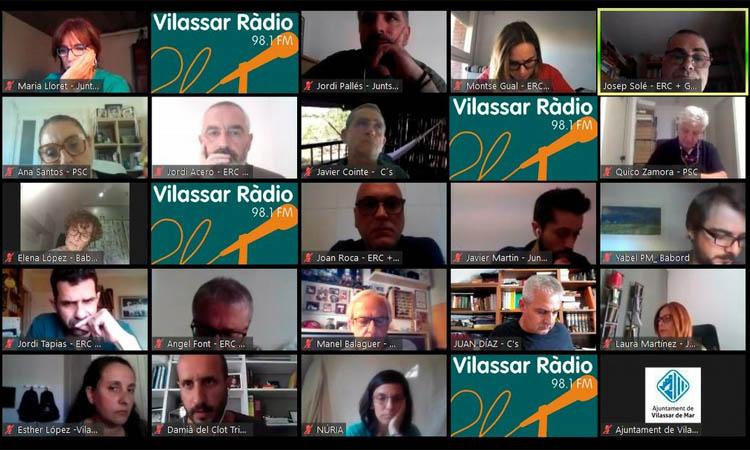 La recuperació econòmica i social, tema central del Ple de Vilassar de Mar