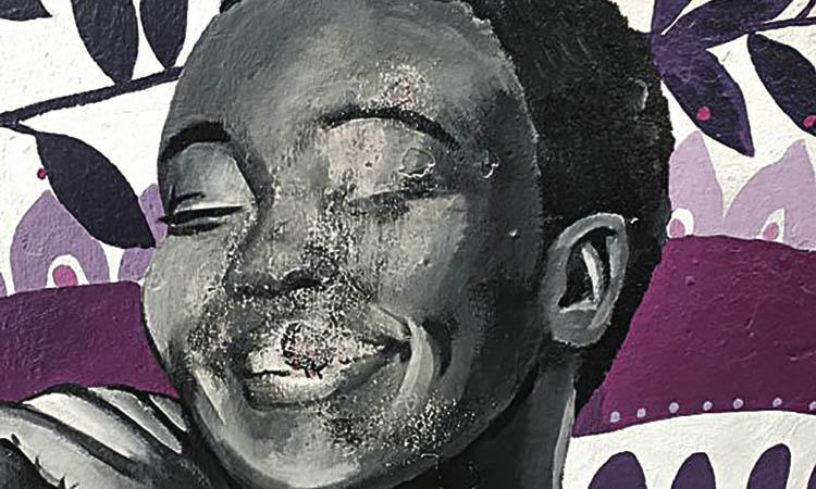 Atacat de nou el mural contra la violència masclista de Vilassar de Mar