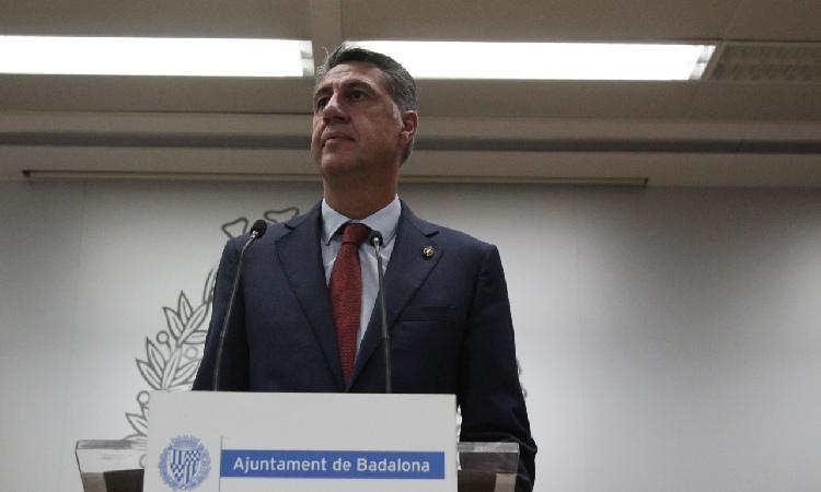 """Albiol veu """"injusta"""" la moció i confirma que tornarà a presentar-se a l'alcaldia el 2023"""