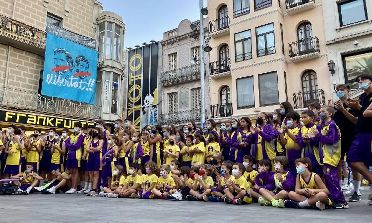 El Sant Josep desafia Albiol i encén la plaça de la Vila amb la presentació d'equips