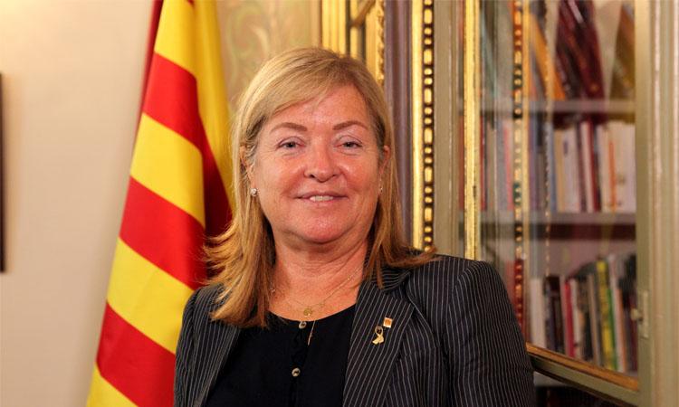 """Àngels Ponsa: """"Volem situar al voltant de Sant Jordi el tret de sortida de la represa cultural"""""""