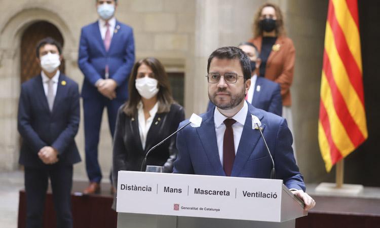 Aragonès fa una crida a demanar el vot per correu per si hi ha eleccions