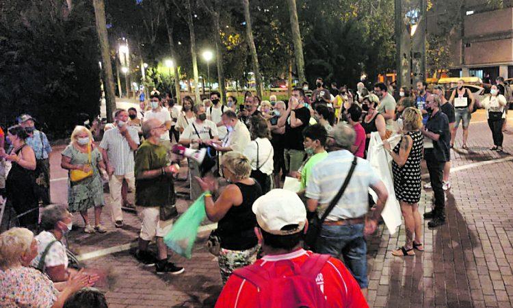 Protesta Sant Adrià
