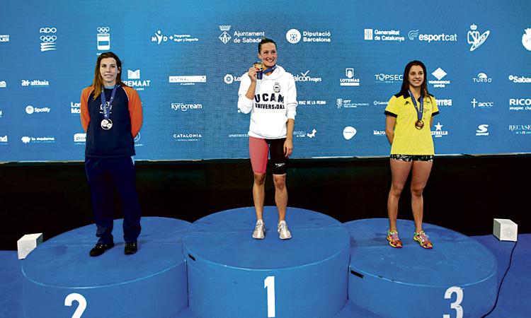Torna la millor Belmonte: cinc ors al Campionat d'Espanya