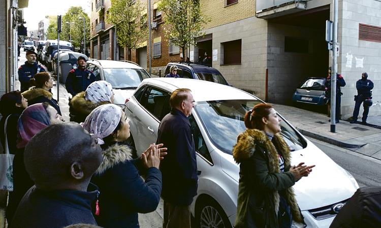 Crit d'alerta del Raval de Santa Coloma pels desnonaments