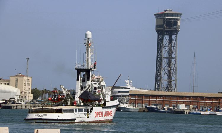 L'Open Arms torna al mar però no podrà rescatar nàufrags