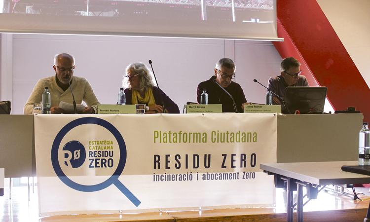 Neix la Plataforma Ciutadana Residu Zero amb més de 30 entitats