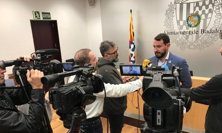 """Guanyem i PSC s'encaminen cap a la moció de censura a Badalona: """"L'alcaldia no serà un problema"""""""