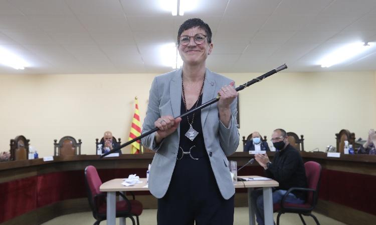 Filo Cañete, primera alcaldessa de la història de Sant Adrià