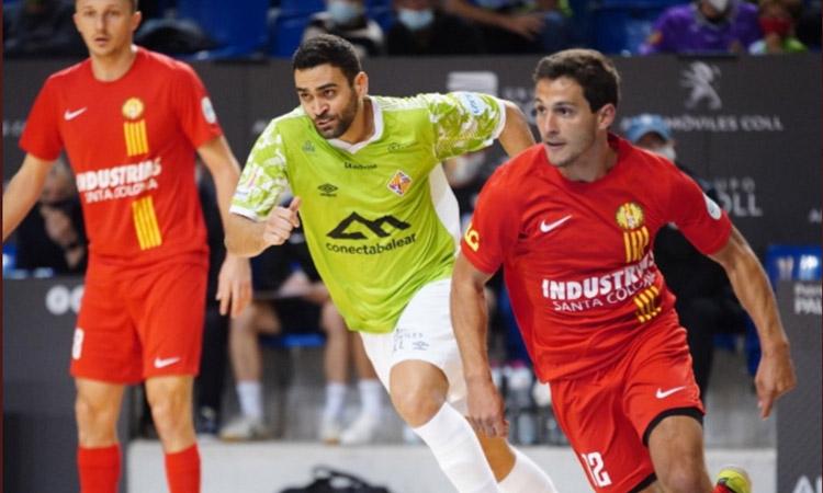 Examen a la vista: l'Industrias rep la visita del Palma Futsal