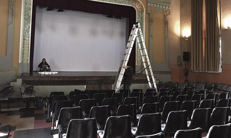 El consistori consta com a promotor de les obres del cine a la Sala Albéniz