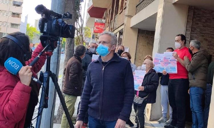 Oposició frontal a l'obertura d'un nou bingo a Llefià