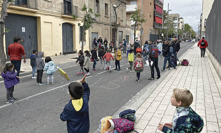 La revolta escolar es consolida a Badalona i cada cop agrupa més centres