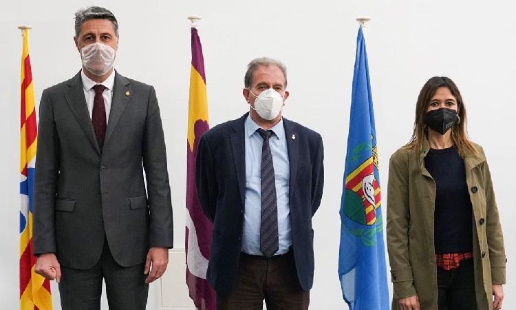 Front comú d'Albiol, Parlon i Callau per rellançar el Barcelonès Nord amb més recursos
