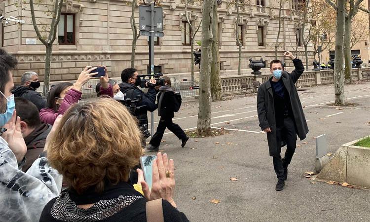 El badaloní Marcel Vivet, condemnat a cinc anys de presó perla protesta contra Jusapol