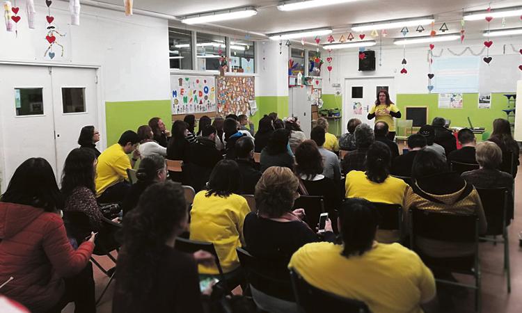 La comunitat educativa de Badalona, en lluita per revertir les retallades