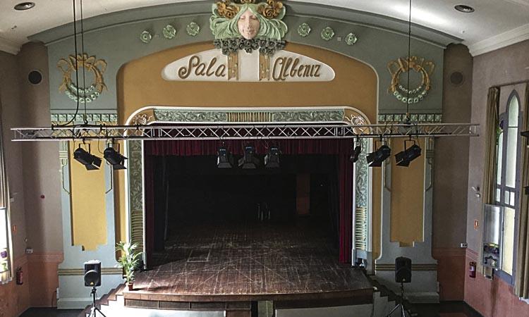 L'equip de govern coneixia la intenció de fer obres per a un futur cine a la Sala Albéniz