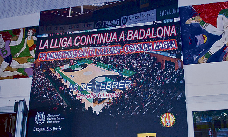 L'Industrias diu adeu a Santa Coloma: rumb a Badalona
