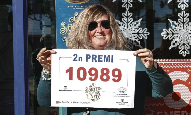 La loteria de Nadal deixa 1,25 milions d'euros a Montgat