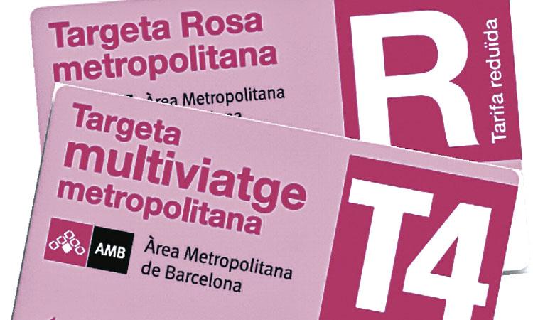 Una Targeta Rosa de transport més fàcil a Santa Coloma