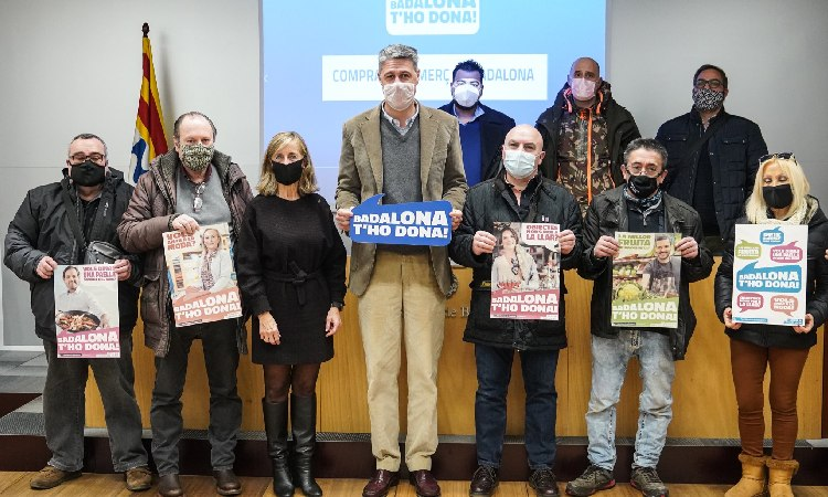 Presentació amb polèmica de la nova campanya de promoció del comerç local