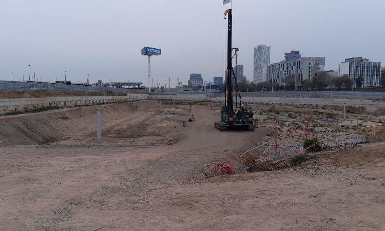 Comença la construcció de l'Hotel HardRock Barcelona a Sant Adrià