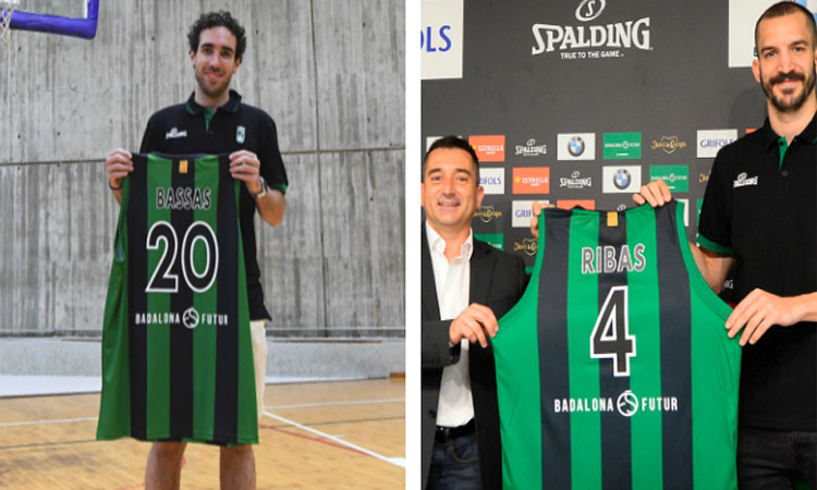 Ferran Bassas i Pau Ribas tornen al Joventut de Badalona