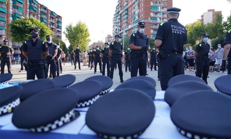 L'oposició carrega contra Albiol per la presentació multitudinària dels nous agents de la Guàrdia Urbana