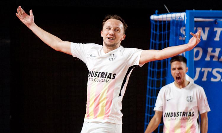 Drahovsky, de l'Industrias, nominat a millor ala de la lliga de futbol sala