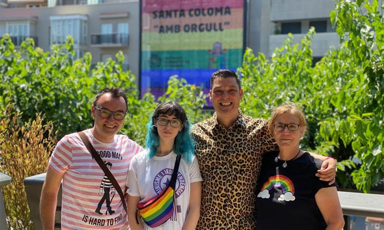 El Barcelonès Nord celebra el dia de l'Orgull en la seva versió més virtual