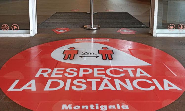 El Centre Comercial Montigalà reobre extremant les mesures de seguretat