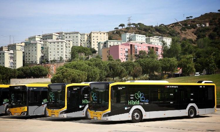Renovació 'híbrida' de la flota de busos metropolitans al Barcelonès Nord