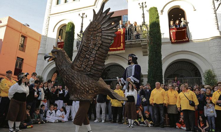 Una nit de Sant Anastasi sense piromusical, però amb l'Àliga