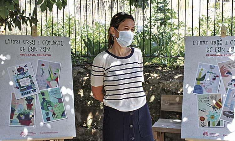 L'Hort Urbà de Can Zam, un nou espai obert a les escoles