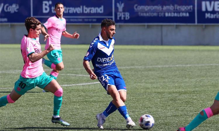 El CF Badalona comença la segona fase rebent la Nucía