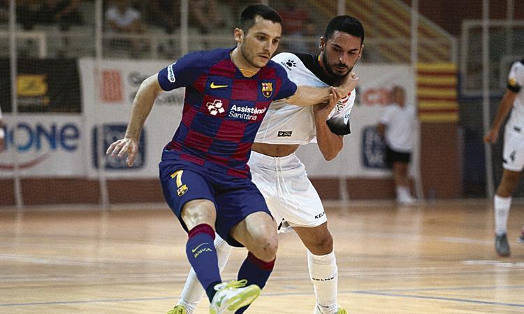 L'Industrias - Barça de demà passat es jugarà a Sabadell