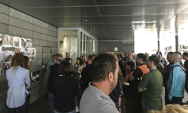 Dos dies sense equipaments esportius per vaga del personal a Badalona